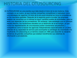 OUTSOURCING - licethmurillo