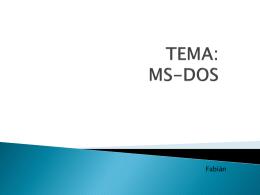 funciones de MS-DOS - informatica-tres
