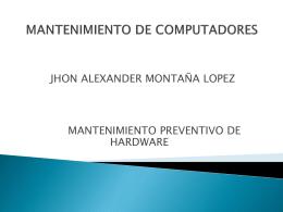 mantenimiento de computadores 10-2