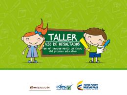 Material Taller - evaluacioneducativacordoba