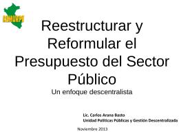 Diapositiva 1 - Red Jubileo Perú