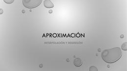 APROXIMACIÓN