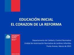Reforma Educacional - Servicio Bienestar Armada