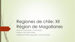 Regiones de chile: XII Région de Magallanes