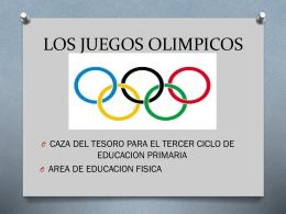 LOS+JUEGOS+OLIMPICOS