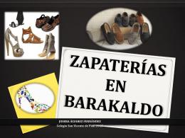 ZAPATERÍAS EN BARAKALDO