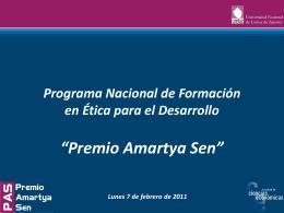 Programa Nacional de Formación en Ética para el Desarrollo