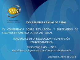Nuevo enfoque de Regulación y Supervisión CdM