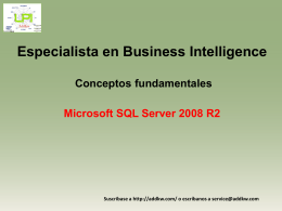 Clase Business Intelligence concepts