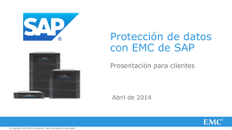 Con DD Boost - EMC Corporation