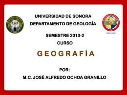 CURSO GEOGRAFÍA 2014-2