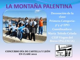 LA MONTAÑA PALENTINA - Concurso Día de Castilla y León en clase