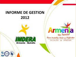 Presentacion INFO GESTION 2012