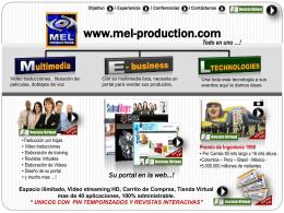 Su portal en la web…!