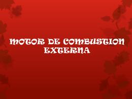 MOTOR DE COMBUSTION EXTERNA mafe y ana.