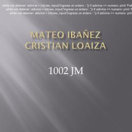 MATEO IBAÑEZ