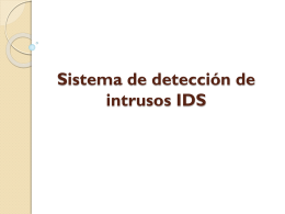 Sistema de detección de intrusos 2025KB Jun 18 2014 05:16