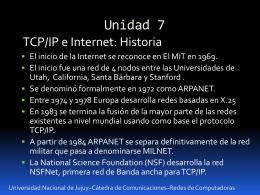 Presentación U7 Redes de Computadoras