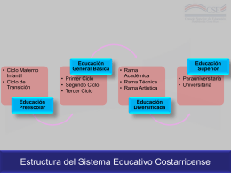 Descargar estructura del sistema educativo costarricense