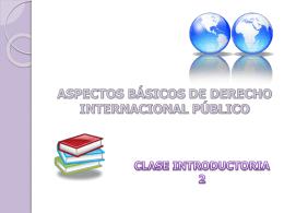 Presentación clase introductoria 2