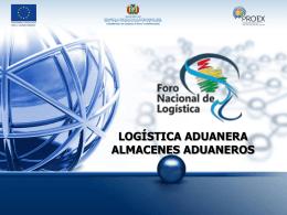 Diapositiva 1 - Foro Nacional de Logistica