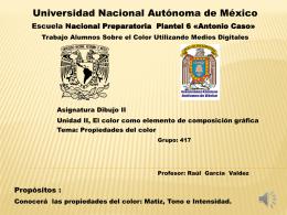 Presentación de PowerPoint - Dibujo | Raúl García Valdez