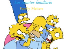Cómo es tu familia?