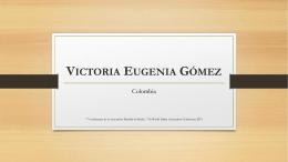 Victoria Eugenia Gómez
