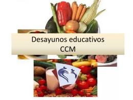 Desayunos educativos CCM