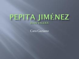 Pepita Jiménez Juan Valera