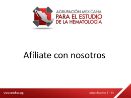 Credencialización para AMEH - Agrupación Mexicana para el