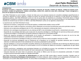 CV Jose Rinkenbach