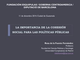 Descargar: Políticas de cohesión social