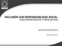 inclusión con responsabilidad social