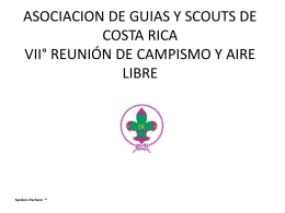 ASOCIACION DE GUIAS Y SCOUTS DE COSTA