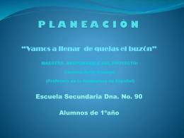 PLANEACIÒN
