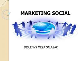 MARKETING SOCIAL dislenys meza