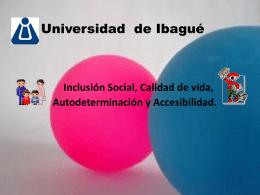 INCLUSION-SOCIAL - Universidad de Ibagué