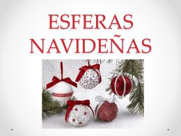 ESFERAS NAVIDEÑAS - Deyanira Velázquez Alvarado