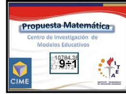 Presentación para curso inducción ITEA sobre CIME