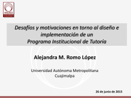 presentación ppt - Universidad Autónoma Metropolitana
