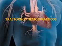 TRASTORNOS HEMODINÁMICOS - transtornos