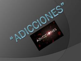 ADICCIONES - necroviry