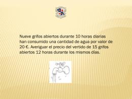 Presentación proporciones. 5 ejercicios