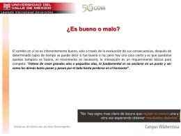 EL CAMBIO.CRISTAL - SDAD-UVM