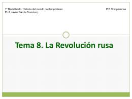 HMC T8 Revolución rusa