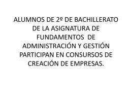 Presentación de Fundamentos 2015