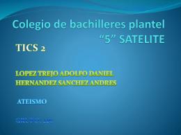 Colegio de bachilleres plantel *5* SATELITE