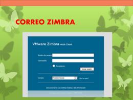 CORREO ZIMBRA