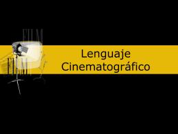 Lenguaje Cinematográfico - web del Colegio Santa Ana de Huesca